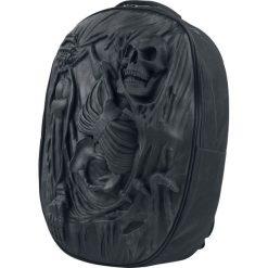 Plecaki męskie: Spiral Death Re-Ripped Plecak czarny