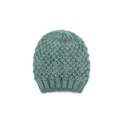 Czapka damska Węzełki zielona. Zielone czapki zimowe damskie Art of Polo. Za 21,37 zł.