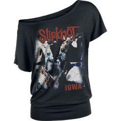 Slipknot Iowa Album Cover Koszulka damska czarny. Czarne bluzki damskie marki Slipknot, m, z nadrukiem, z kapturem. Za 79,90 zł.