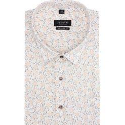 Koszula bexley 2833 krótki rękaw regular fit ecru. Brązowe koszule męskie marki QUECHUA, m, z elastanu, z krótkim rękawem. Za 149,00 zł.