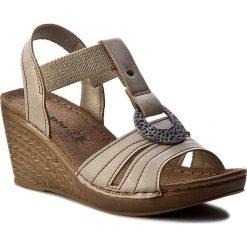 Rzymianki damskie: Sandały INBLU – OC027R10 Beżowy