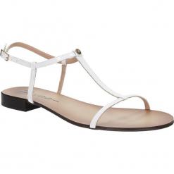SANDAŁY NESSI 49004. Czarne sandały damskie marki Nessi, z materiału, na obcasie. Za 161,99 zł.