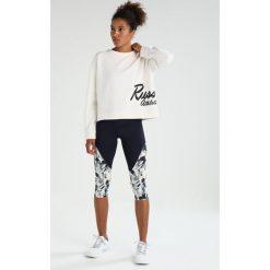 Bluzy rozpinane damskie: Russell Athletic CREW NECK Bluza soya