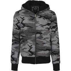 Urban Classics Camo Zip Jacket Bluza z kapturem rozpinana kamuflaż (Dark Camo). Zielone bluzy męskie rozpinane Urban Classics, xl, z kapturem. Za 199,90 zł.