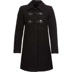 Płaszcz budrysówka bonprix czarny. Czarne płaszcze damskie bonprix. Za 239,99 zł.