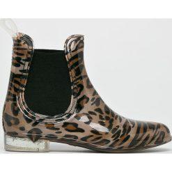 Answear - Kalosze Ideal Shoes. Szare kalosze damskie marki ANSWEAR, z gumy. W wyprzedaży za 79,90 zł.