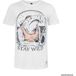 T - shirt Shark. Czarne t-shirty męskie marki KIPSTA, m, z elastanu, z długim rękawem, na fitness i siłownię. Za 89,00 zł.