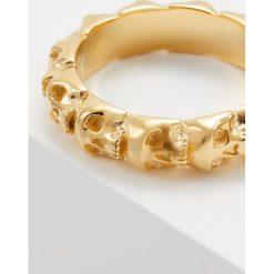 Northskull SKULL RING BAND Pierścionek goldcoloured. Żółte sygnety męskie Northskull. Za 719,00 zł.