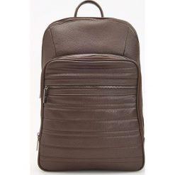 Plecak dwukomorowy - Brązowy - 2