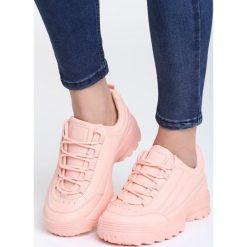 Różowe Sneakersy Back To Us. Szare sneakersy damskie marki other, z materiału. Za 89,99 zł.