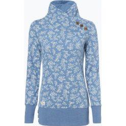Ragwear - Damska bluza nierozpinana – Nest Print Organic, niebieski. Niebieskie bluzy rozpinane damskie marki Ragwear, s. Za 309,95 zł.