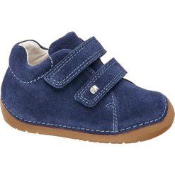 Buciki dziecęce Elefanten niebieskie. Niebieskie buciki niemowlęce chłopięce Elefanten, z materiału, na rzepy. Za 139,90 zł.