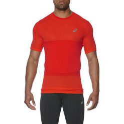 Asics Koszulka męska bezszwowa fuzeX Seamless SS czerwona r. XL (141239 0626). Czerwone koszulki sportowe męskie Asics, m. Za 147,38 zł.