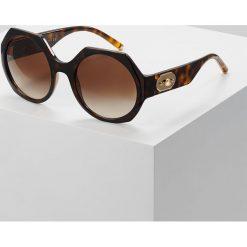 Dolce&Gabbana Okulary przeciwsłoneczne havana. Brązowe okulary przeciwsłoneczne damskie lenonki Dolce&Gabbana. Za 989,00 zł.