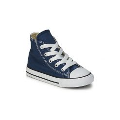 Buty Dziecko Converse  CHUCK TAYLOR ALL STAR CORE HI. Niebieskie trampki chłopięce marki Converse, retro. Za 199,00 zł.