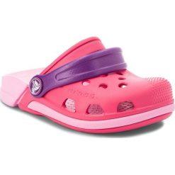 Klapki dziewczęce: Klapki CROCS – Electro III Clog K 204991 Paradise Pink/Carnation