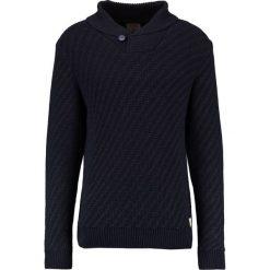 Swetry męskie: Jack & Jones JJVGLENN SHAWL NECK Sweter blue nights