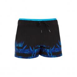 Szorty pływackie krótkie 150 OPI męskie. Czarne szorty męskie marki Jack & Jones, moro, z materiału, eleganckie. Za 69,99 zł.