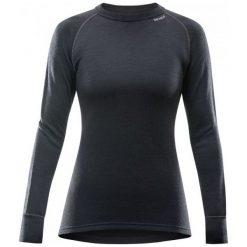 Devold Koszulka Damska Expedition Woman Shirt Black S. Czarne bluzki sportowe damskie marki Devold, s, ze skóry. Za 329,00 zł.