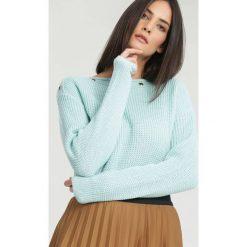 Jasnoniebieski Sweter Sundown. Niebieskie bluzki damskie other, uniwersalny. Za 34,99 zł.