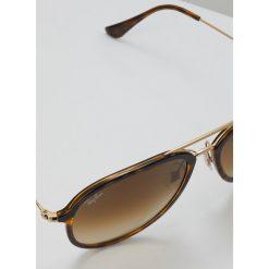 RayBan Okulary przeciwsłoneczne brown. Brązowe okulary przeciwsłoneczne damskie aviatory Ray-Ban. Za 699,00 zł.