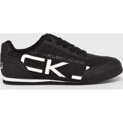 Calvin Klein Jeans - Buty. Czarne buty sportowe męskie marki Calvin Klein Jeans, z gumy. Za 439,90 zł.