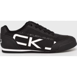 Calvin Klein Jeans - Buty. Czarne buty skate męskie Calvin Klein Jeans, z jeansu. Za 439,90 zł.