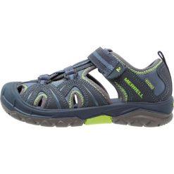 Merrell HYDRO HIKER Sandały trekkingowe navy/green. Niebieskie buty trekkingowe chłopięce marki CMP, z materiału. W wyprzedaży za 351,20 zł.