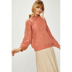 Answear - Sweter. Szare swetry oversize damskie ANSWEAR, m, z bawełny. Za 119,90 zł.