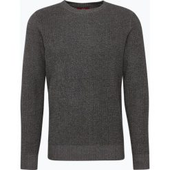 Swetry klasyczne męskie: Finshley & Harding London – Sweter męski, szary