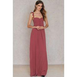 Długie sukienki: Flynn Skye Długa sukienka Carla - Brown,Red