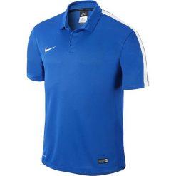 Koszulki polo: Nike Koszulka męska Squad15 SS Sideline Polo  niebieska r. S  (645538-463)