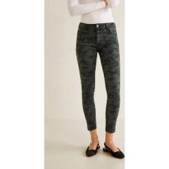 Mango - Jeansy Skinny. Szare jeansy damskie rurki marki Mango, z bawełny. Za 119,90 zł.
