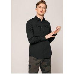 G-Star Raw - Koszula Landoh. Szare koszule męskie na spinki marki S.Oliver, l, z bawełny, z włoskim kołnierzykiem, z długim rękawem. W wyprzedaży za 269,90 zł.