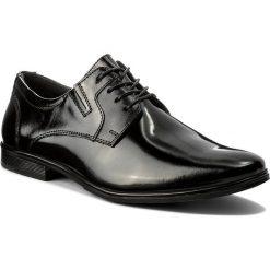 Półbuty LASOCKI FOR MEN - MI08-C345-383-02 Czarny. Czarne półbuty skórzane męskie marki TOMMY HILFIGER, na sznurówki. Za 199,99 zł.