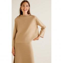 Mango - Sweter Fleary. Różowe swetry klasyczne damskie Mango, l, z dzianiny. Za 119,90 zł.