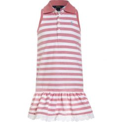 Odzież dziecięca: Polo Ralph Lauren Sukienka letnia salmon berry/white