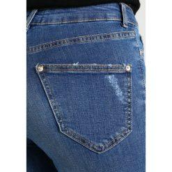 Miss Selfridge Petite LIZZIE Jeans Skinny Fit blue. Niebieskie jeansy damskie Miss Selfridge Petite, petite. Za 209,00 zł.