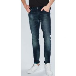 Scotch & Soda - Jeansy Phaidon. Niebieskie jeansy męskie slim Scotch & Soda, z bawełny. W wyprzedaży za 449,90 zł.