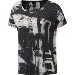 Bluzki sportowe damskie: koszulka sportowa damska REEBOK BURNOUT TEE / CF3323