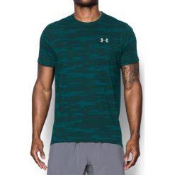 Under Armour Koszulka męska Threadborne Run Mesh SS zielona r. L (1298851-919). Zielone koszulki sportowe męskie marki Under Armour, l, z meshu. Za 117,75 zł.