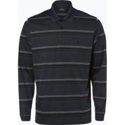 Ragman - Męska koszulka polo, niebieski. Niebieskie koszulki polo Ragman, m, w paski, z długim rękawem. Za 249,95 zł.
