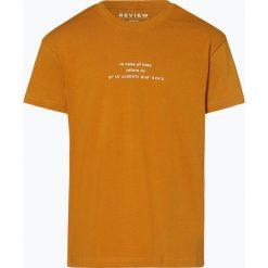 Review - T-shirt męski, żółty. Żółte t-shirty męskie Review, l, z dżerseju. Za 69,95 zł.