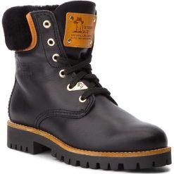 Trapery PANAMA JACK - Talvi Igloo Travelling B1 Napa Negro/Black. Czarne buty zimowe damskie Panama Jack, ze skóry. Za 929,00 zł.