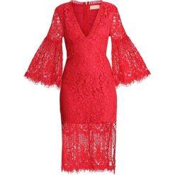 Love Triangle MELODY LANE MIDAXI DRESS Sukienka letnia merlot. Czerwone sukienki letnie Love Triangle, z bawełny. Za 349,00 zł.