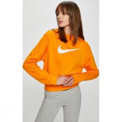 Nike Sportswear - Bluza. Szare bluzy rozpinane damskie Nike Sportswear, l, z nadrukiem, z bawełny, bez kaptura. W wyprzedaży za 179,90 zł.