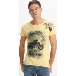 T-shirty męskie z nadrukiem: Key Largo IRON SPEED Tshirt z nadrukiem honey yellow