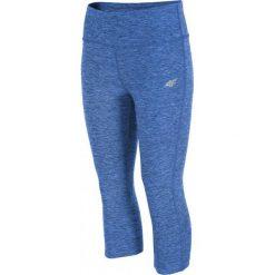 4f Spodnie damskie H4L17-SPDF001 3/4 1284  niebieski r. XS. Niebieskie spodnie sportowe damskie marki 4f, l. Za 68,11 zł.