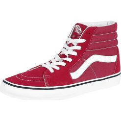 Buty sportowe męskie: Vans Sk8-Hi Buty sportowe czerwony/biały