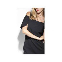 Sukienka Sophie klasyczna elegancka czerń. Czerwone sukienki balowe marki Mohito, l, z materiału, z falbankami. Za 499,00 zł.